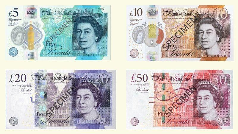 Banknoty brytyjskie