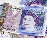 20 gbp pieniądze brytyjskie